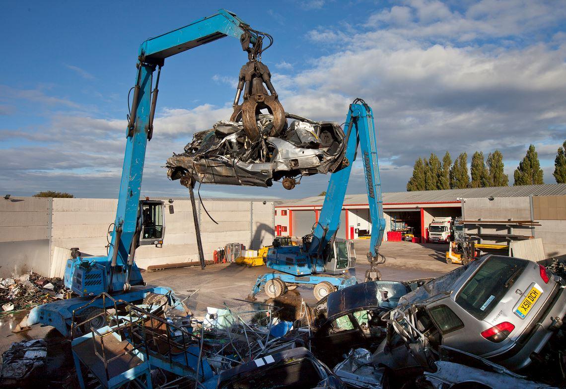 Scrap Car Recycling