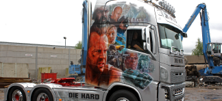 Our Die Hard truck