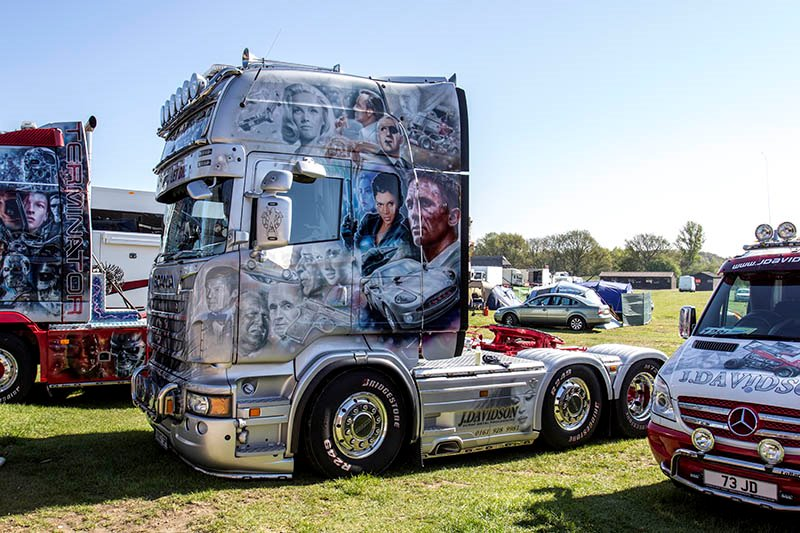 James Bond Trucks