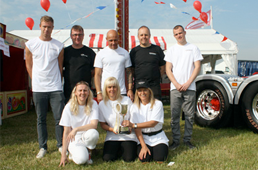 Image of the J Davidson team at the Cheshire Show 2013