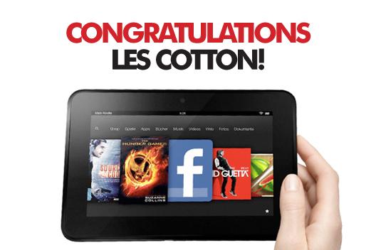 Les Cotton - Winner